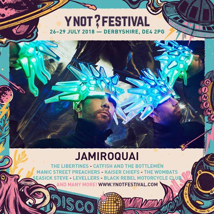 DON'T MISS A JAMIROQUAI UK FESTIVAL EXCLUSIVE....