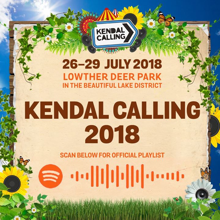 You'll be pleased to hear we've jam-packed the official Kendal Calling Spotify p...