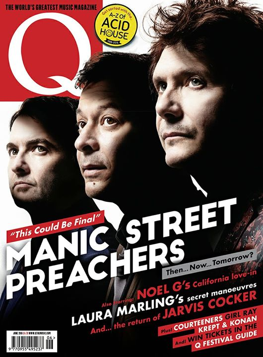 We made Q Magazine's Festival Guide, which has got us pretty excited, don't know...
