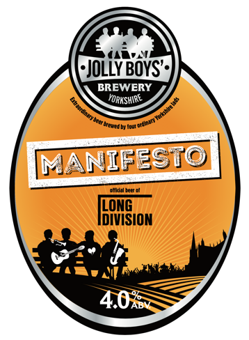 Long Division festival news : We're thrilled that Jolly Boys'Brewery has hand crafted a limited edition ale fo…