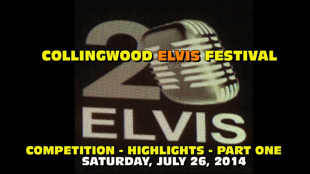 FESTIVAL HIGHLIGHTS: 2014 Collingwood Elvis Festival Sat. Competition Highlights  Part 1