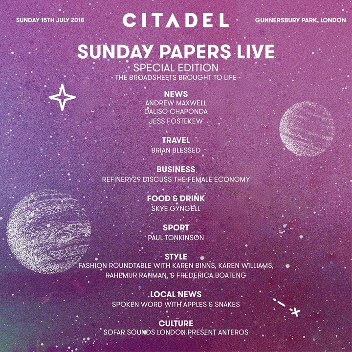 Citadel Festival news : There's much more than just the music at