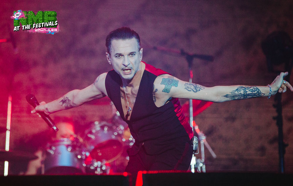 NME Festival blog: Depeche Mode played all your favourite Depeche Mode songs at Mad Cool (and Gahan wore a waistcoat better than Southgate)