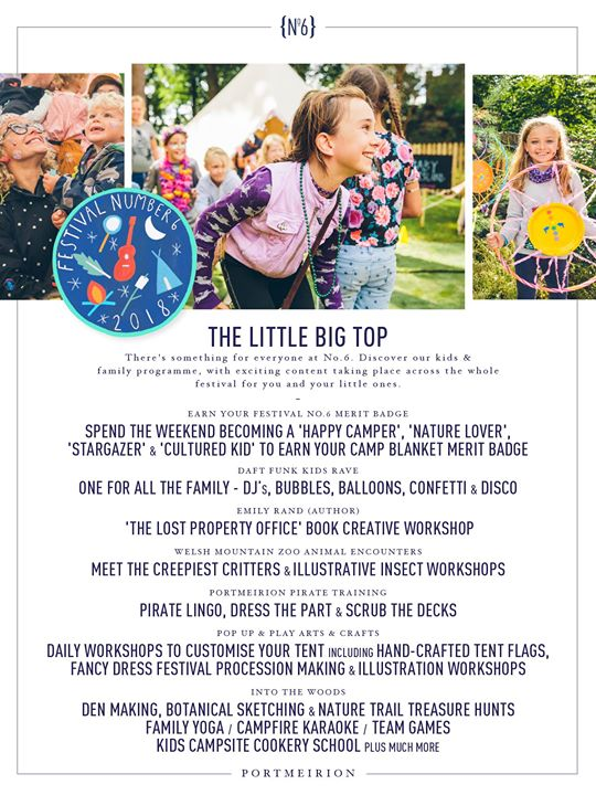 There's something for everyone at No.6. Discover The Little Big Top, our Kids & ...