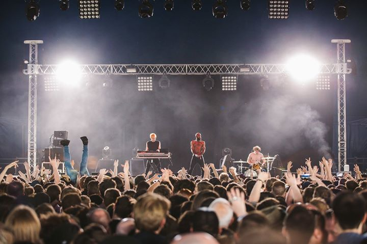 Who remembers Death Grips at Field Day in 2017?  ...