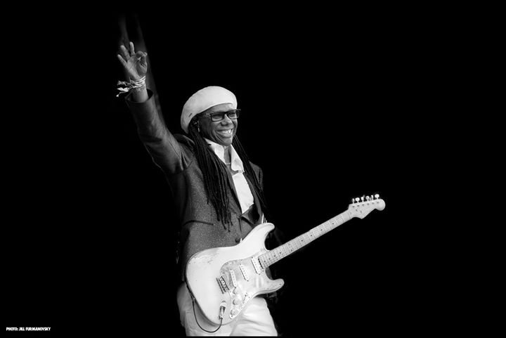 5 Grandstand Tickets available for Friday 13th Nile Rodgers! Visit our website t...