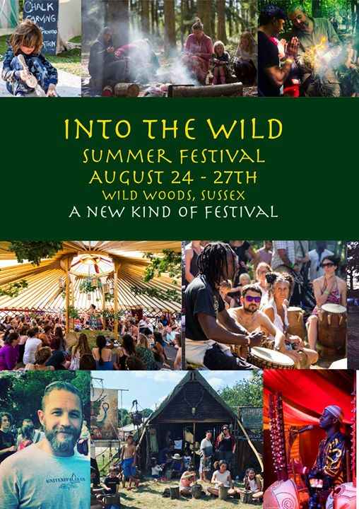 Into the Wild Festival news: Hey folks, now is the last chance for tickets, for the summer festival before th