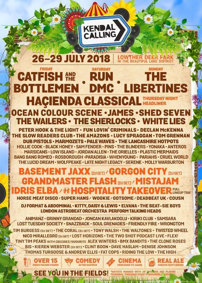 Kendal Calling 2018 Preview – Part One
