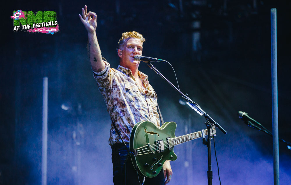 NME Festival blog: Queens Of The Stone Age rage against fenced-off VIP area at Mad Cool; Josh Homme tells security, 'You work for me tonight'