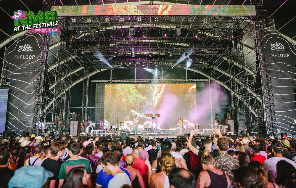 NME Festival blog: Sofi Tukker put on euphoric set of pure pop at Mad Cool Festival 2018
