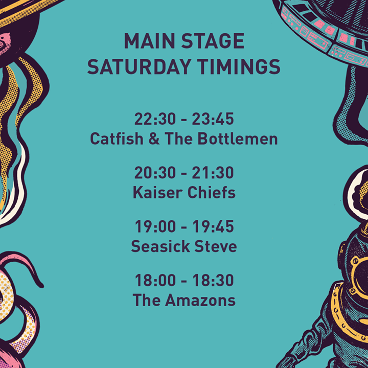 Due to the strong winds today, all Main Stage sets are running slightly later th...