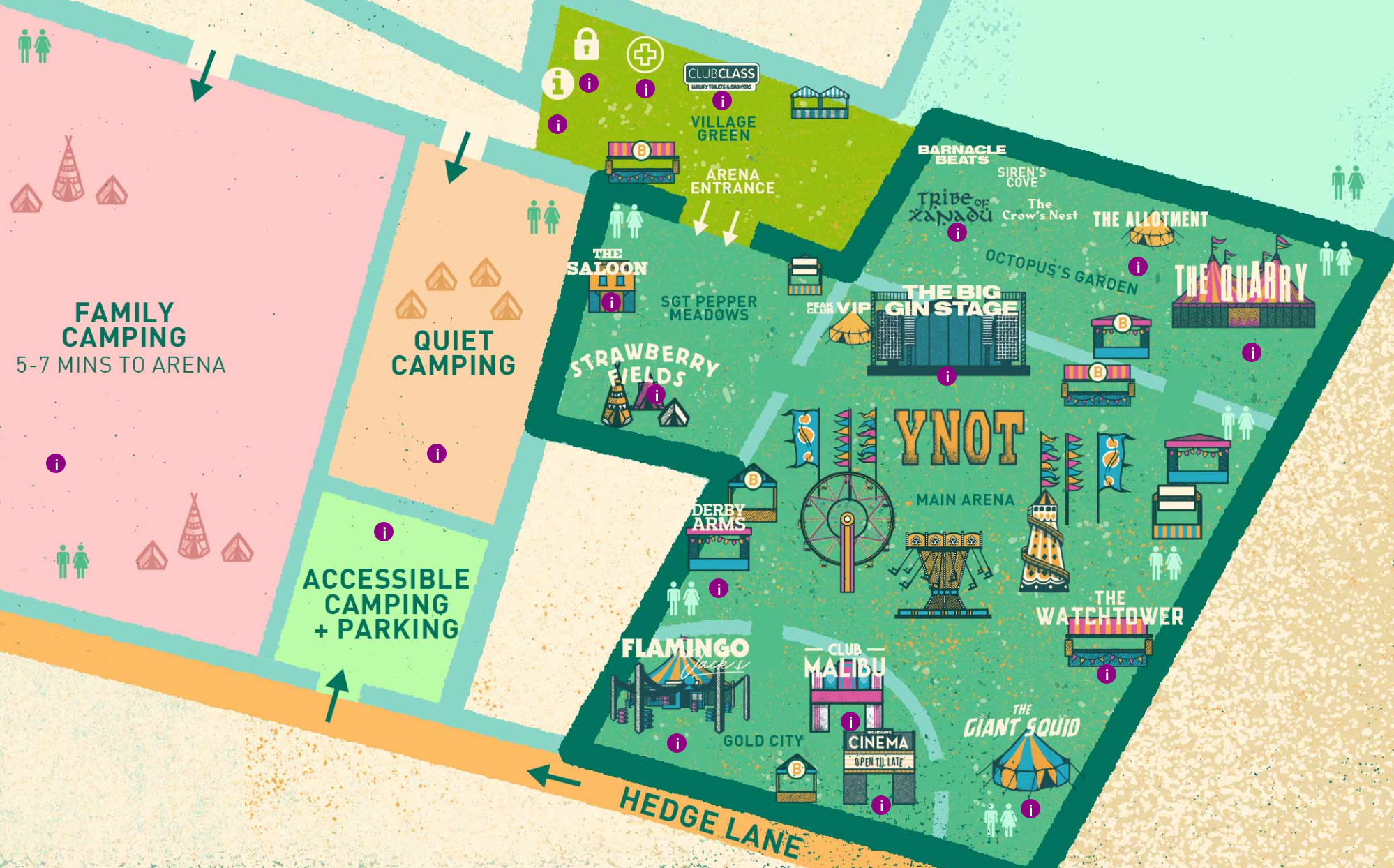 Explore The New Festival Site - Y Not Festival 2018