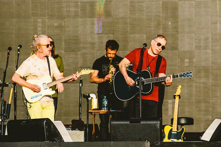 Wishing we were back in Hyde Park with Paul Simon! ️...