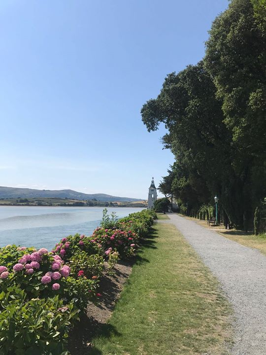 Portmeirion looking beautiful in the sunshine today...
