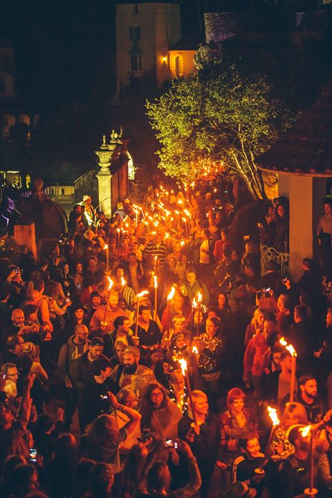 Want to be part our magical Torchlit Procession that weaves through the Village ...