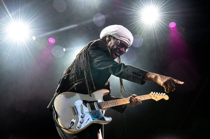 What a way to kick start the weekend...Nile Rodgers & CHIC were phenomenal, stil...