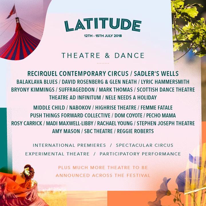 Happy World Theatre Day! Top Theatre Picks at Latitude 2018