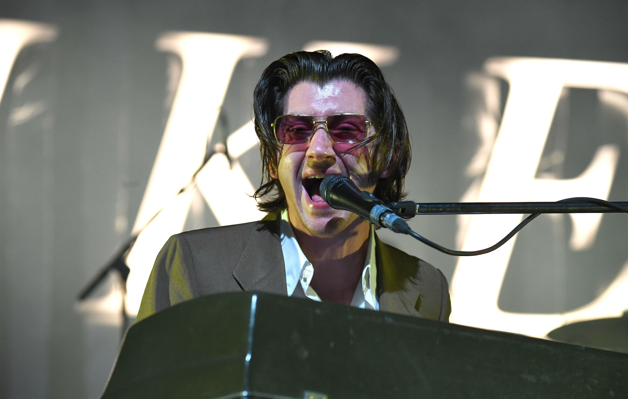 NME Festival blog: Alex Turner says he 'likes the idea that he'd be making music' in 40 years' time
