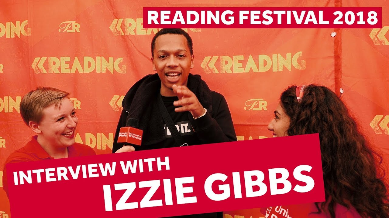 FESTIVAL HIGHLIGHTS: IZZIE GIBBS INTERVIEW | Reading Festival 2018 Backstage Pass