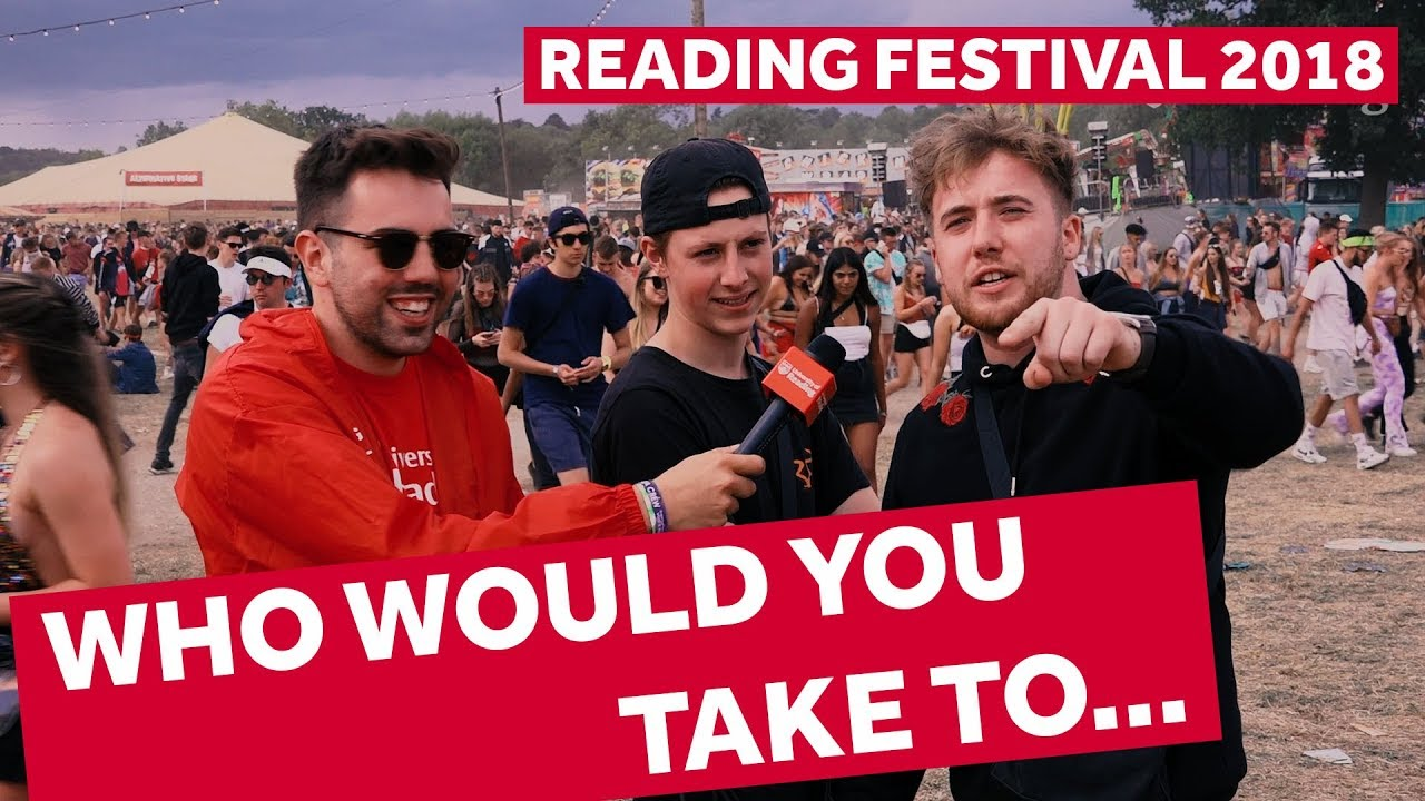 FESTIVAL HIGHLIGHTS: WHO WOULD YOU TAKE TO… | Reading Festival 2018 Backstage Pass
