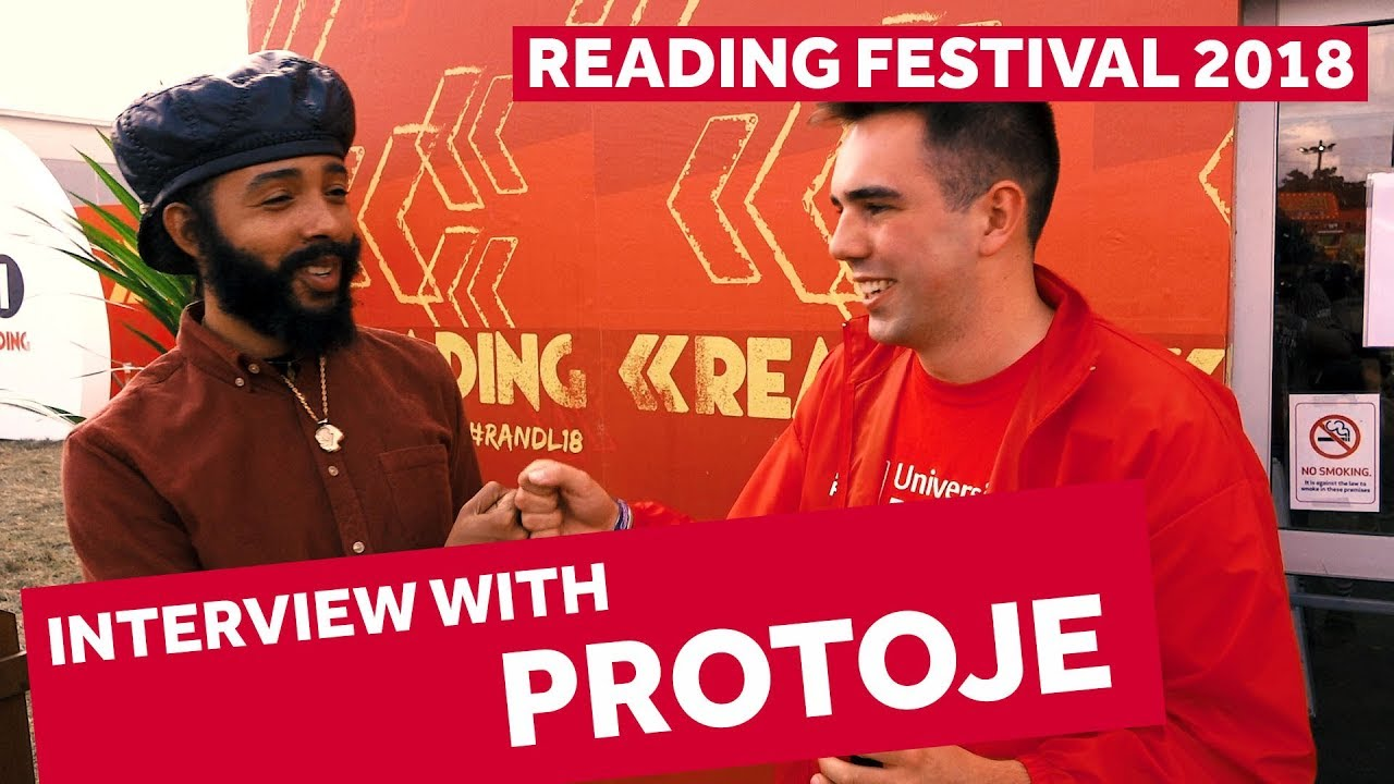 FESTIVAL HIGHLIGHTS: PROTOJE INTERVIEW | Reading Festival 2018 Backstage Pass