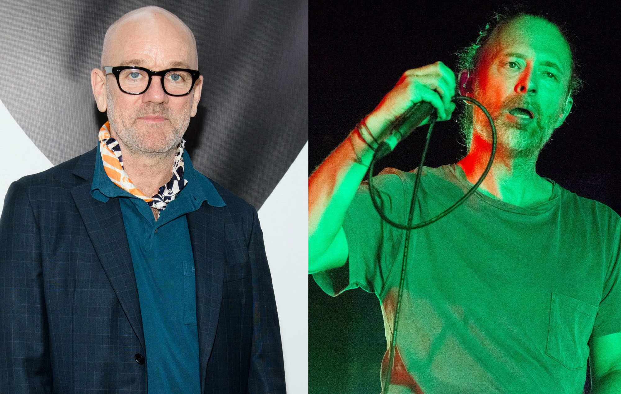 NME Festival blog: R.E.M. share unreleased version of 'E-Bow The Letter' featuring Thom Yorke