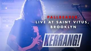 Bloodstock news: We were stoked to have Pallbearer play the Sophie Stage on Sunday this year.  Ch…