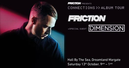 By the Sea news: Friction 'Connections' Album Tour with Special Guest Dimension
