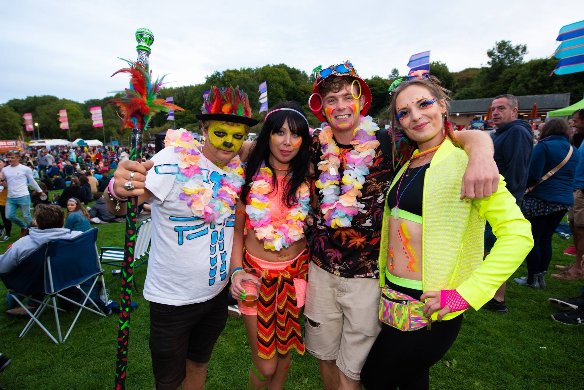 Eklectica FESTIVAL NEWS: We're LOVING your Tropical Party fancy dress today!…