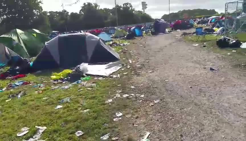 Festival Flyer Facebook news: Just a thought – on all these campsites where tents get left like this let's sta…
