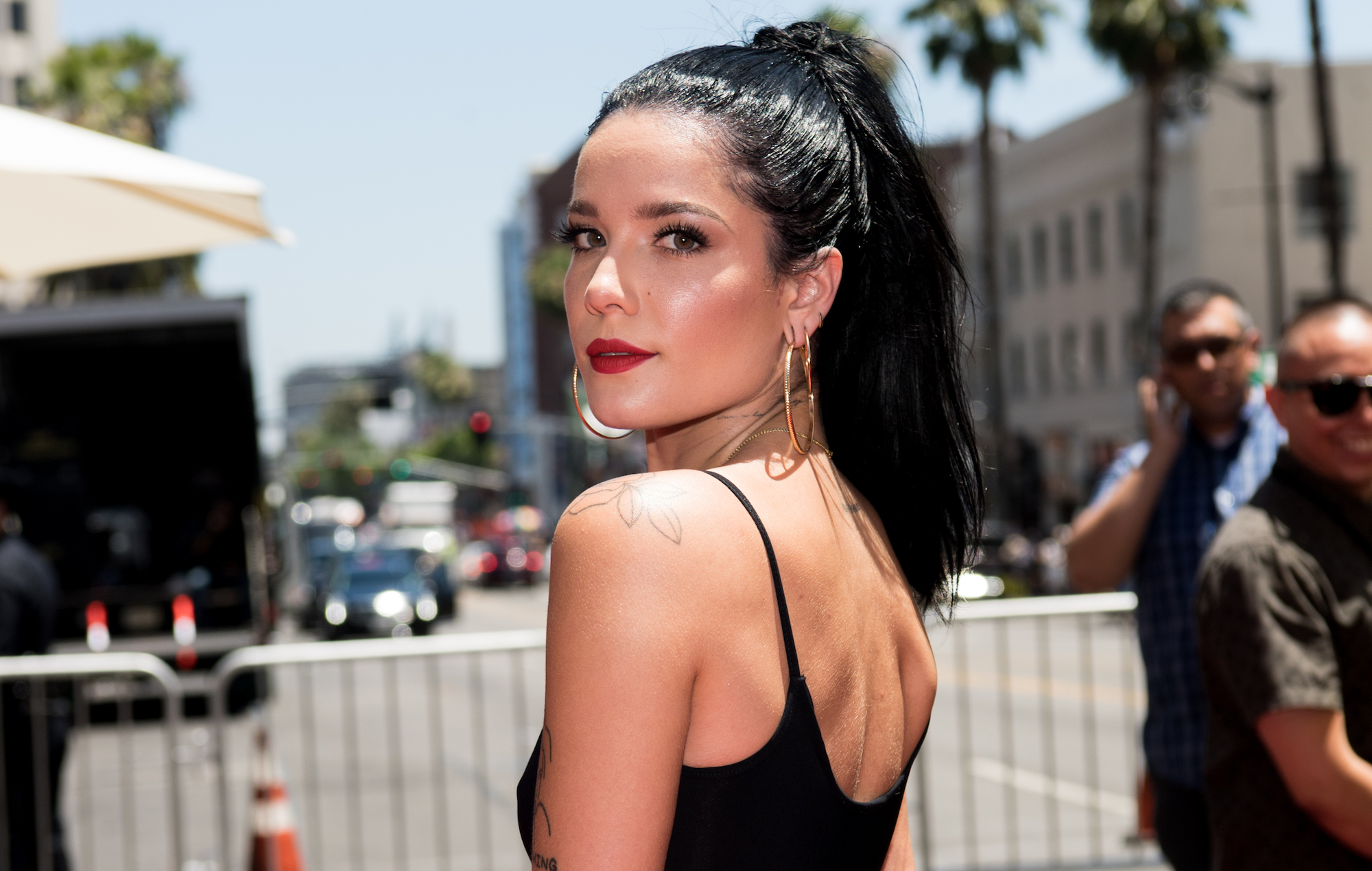 NME Festival blog: Halsey reveals 'humbling and unreal' cameo in 'A Star Is Born'
