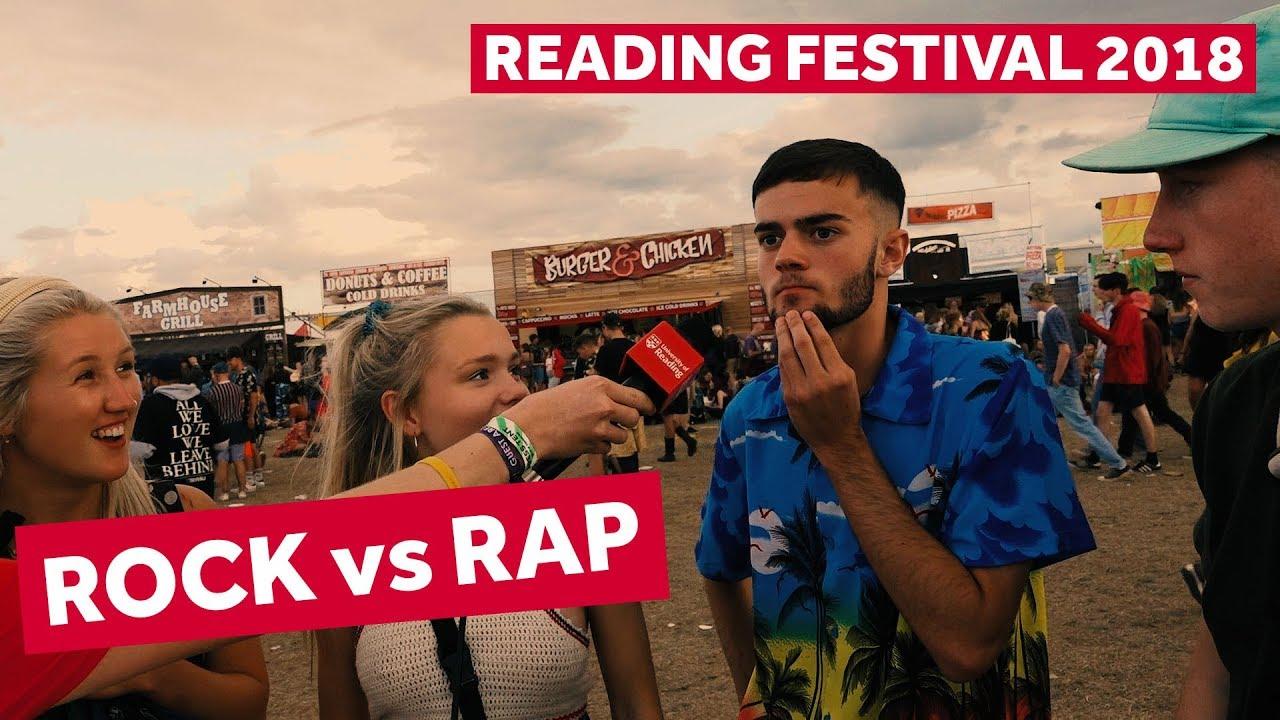 FESTIVAL HIGHLIGHTS: ROCK vs RAP | Reading Festival 2018 Backstage Pass