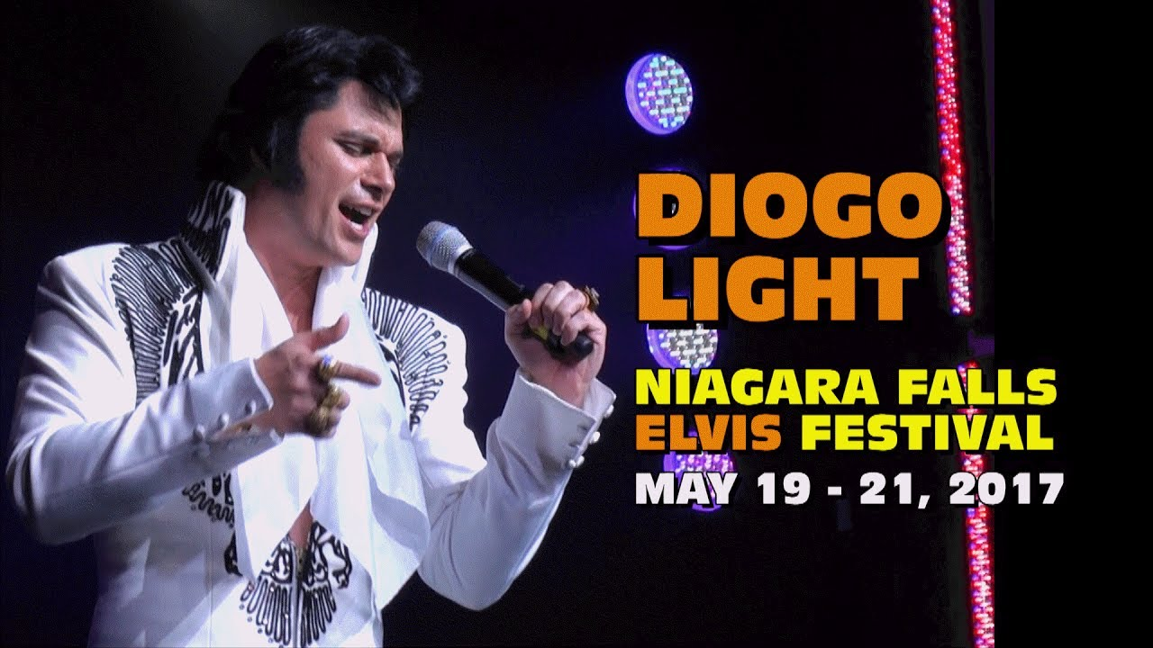 FESTIVAL HIGHLIGHTS: Diogo Light Niagara Falls Elvis Festival May 2017