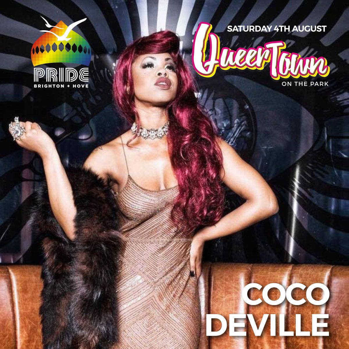 Brighton Pride news: Award winning, international, critically acclaimed cabaret chameleon Ms Coco Dev…