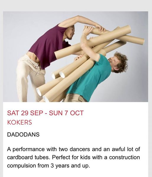 Dance Umbrella news: Catch our fun family show KoKERS at Artsdepot today and The Place / Watermans – …