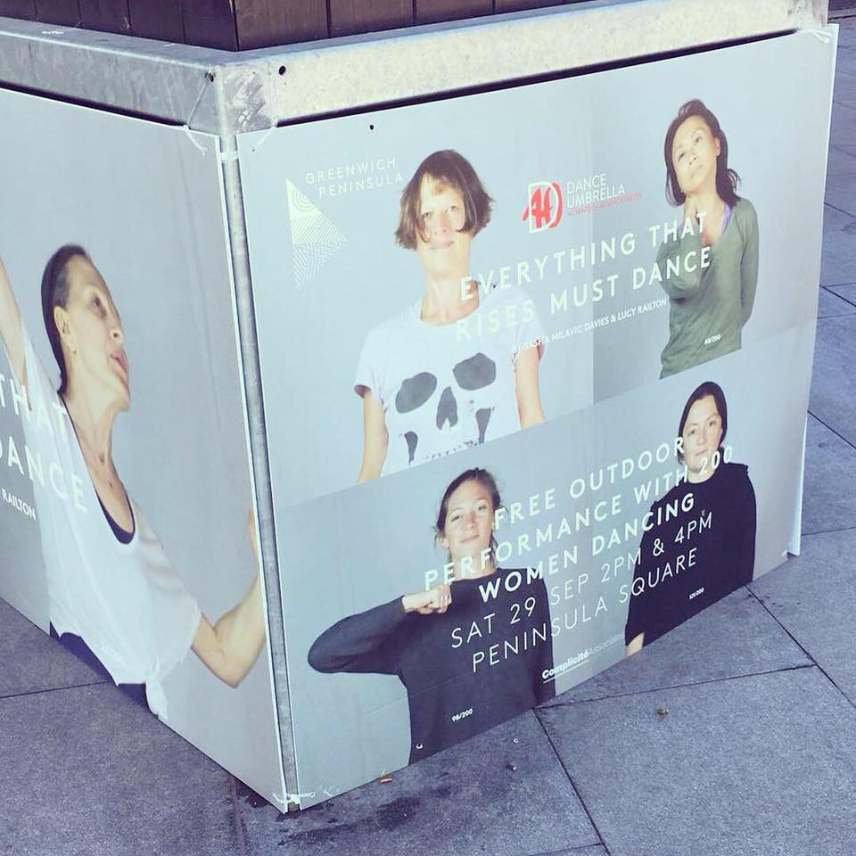 Dance Umbrella news: Looks like The Peninsulist is getting ready for the arrival of the 200 women in …