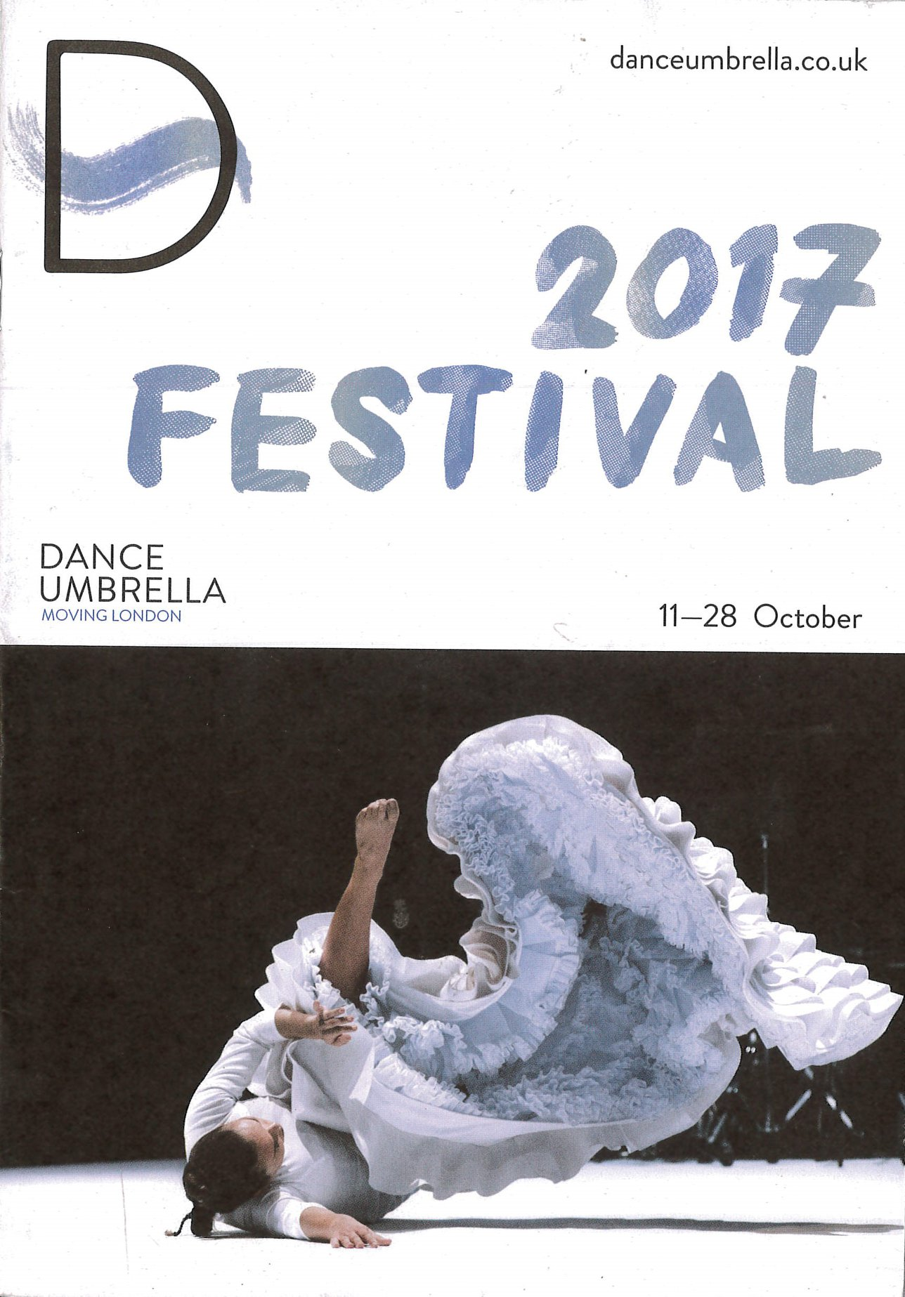 Dance Umbrella news: We close our 40 year countdown with Freddie Opoku-Addaie beginning a 3 year role…