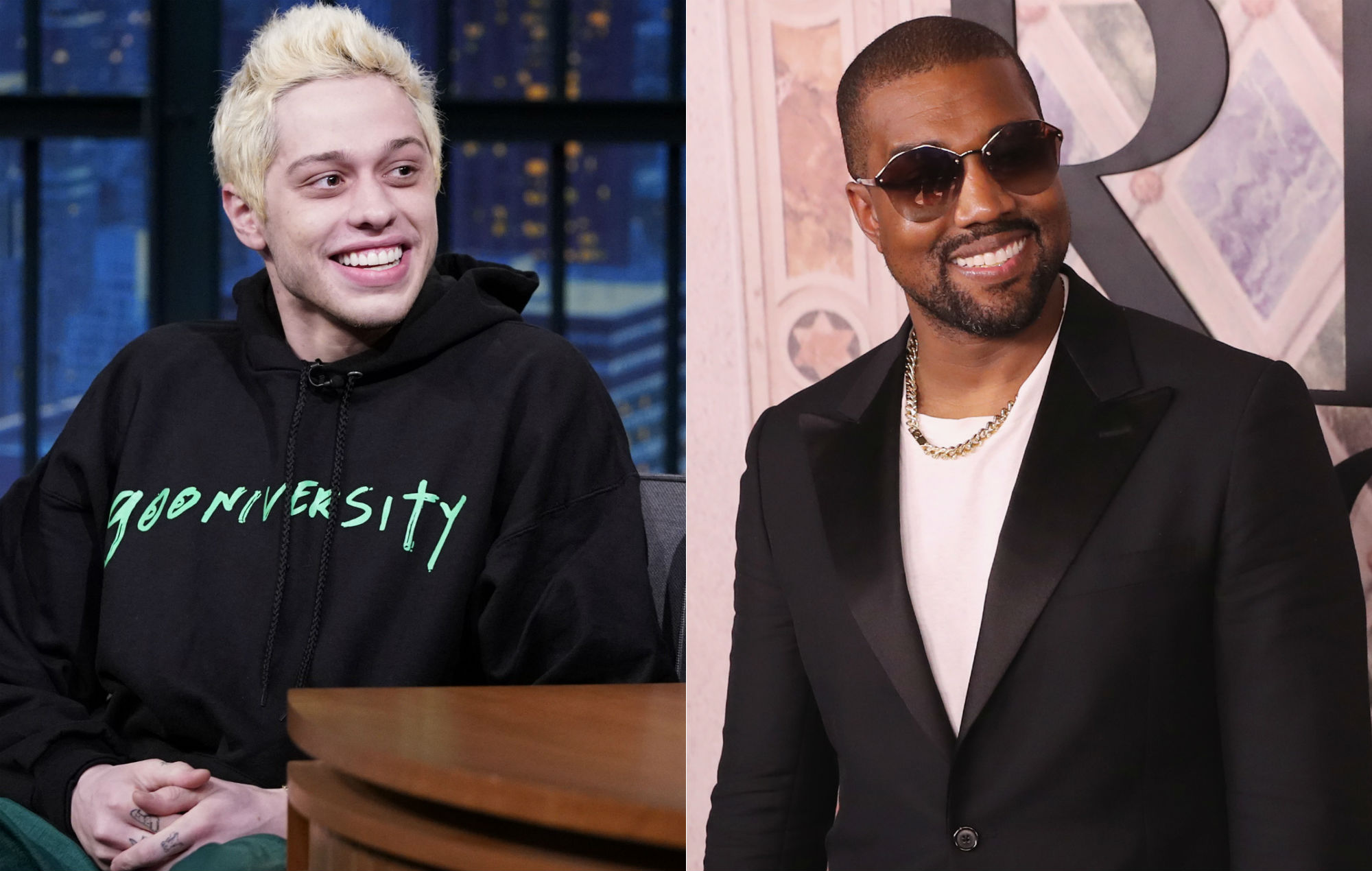 NME Festival blog: Pete Davidson hits out Kanye West's SNL Trump speech: 'Being mentally ill is not an excuse to act like a jackass'