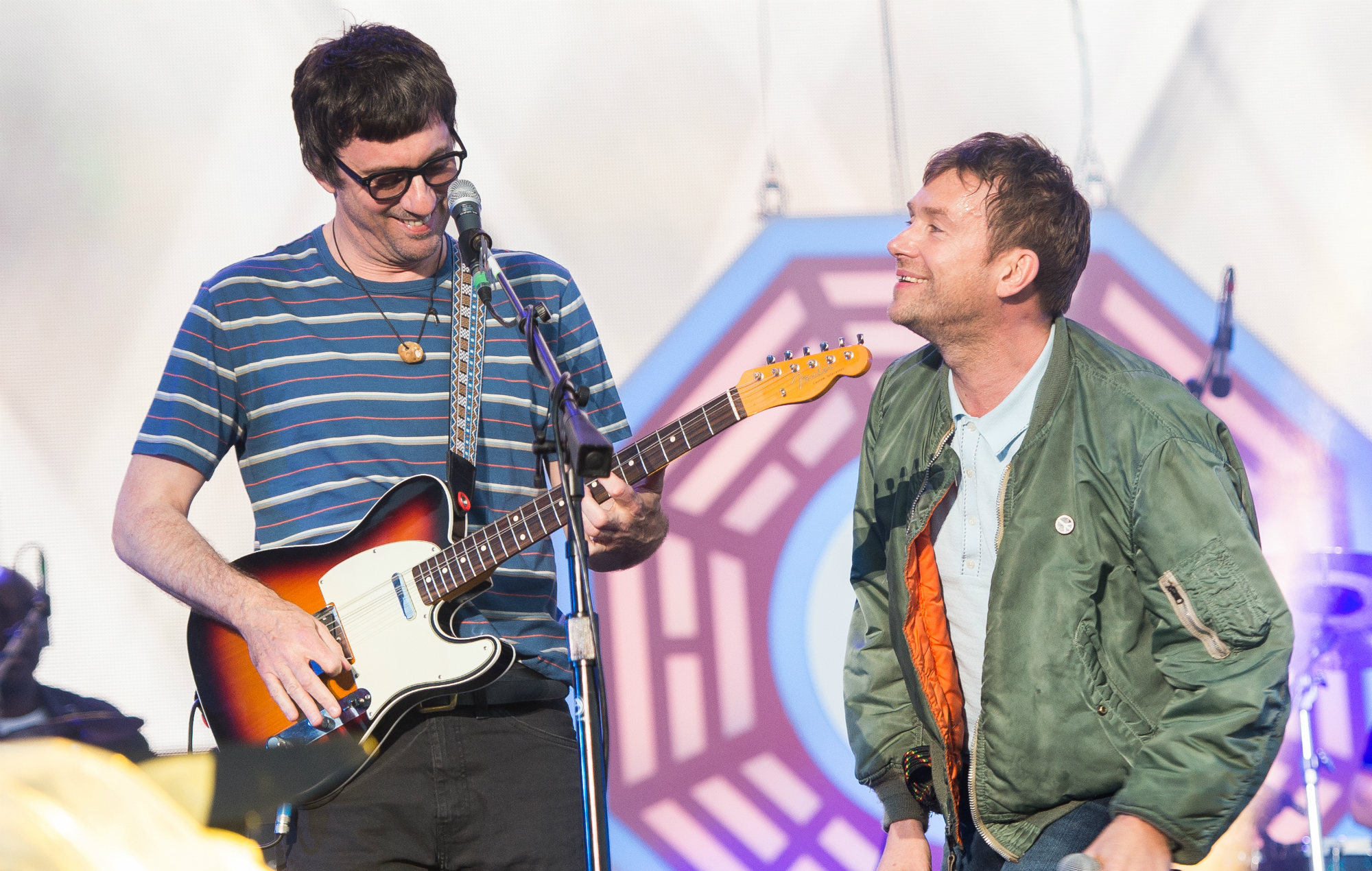 NME Festival blog: Watch Gorillaz play Blur's 'Song 2' with Graham