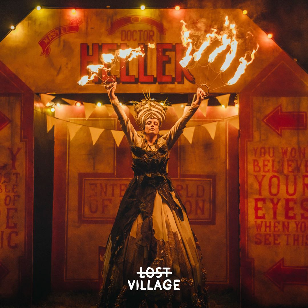 Lost Village news from @lostvillagefest: The Circus of Astonishment… You won't believe your eyes…