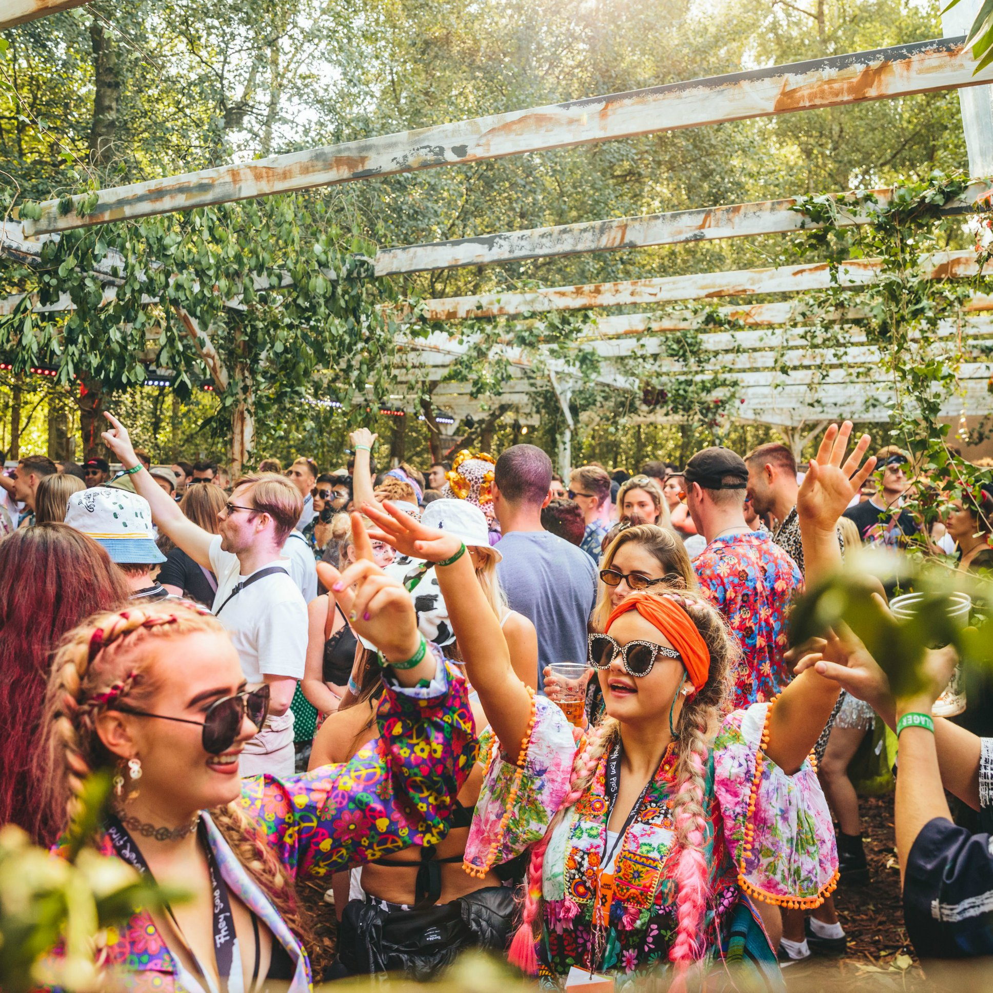 Lost Village news from @lostvillagefest: Watcher's Holt… Where secrets are told and rumours unfold. Thanks to Peggy Gou,