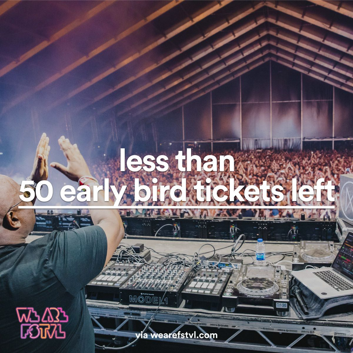 We are FSTVL news: Last 50 tickets – last chance saloon.