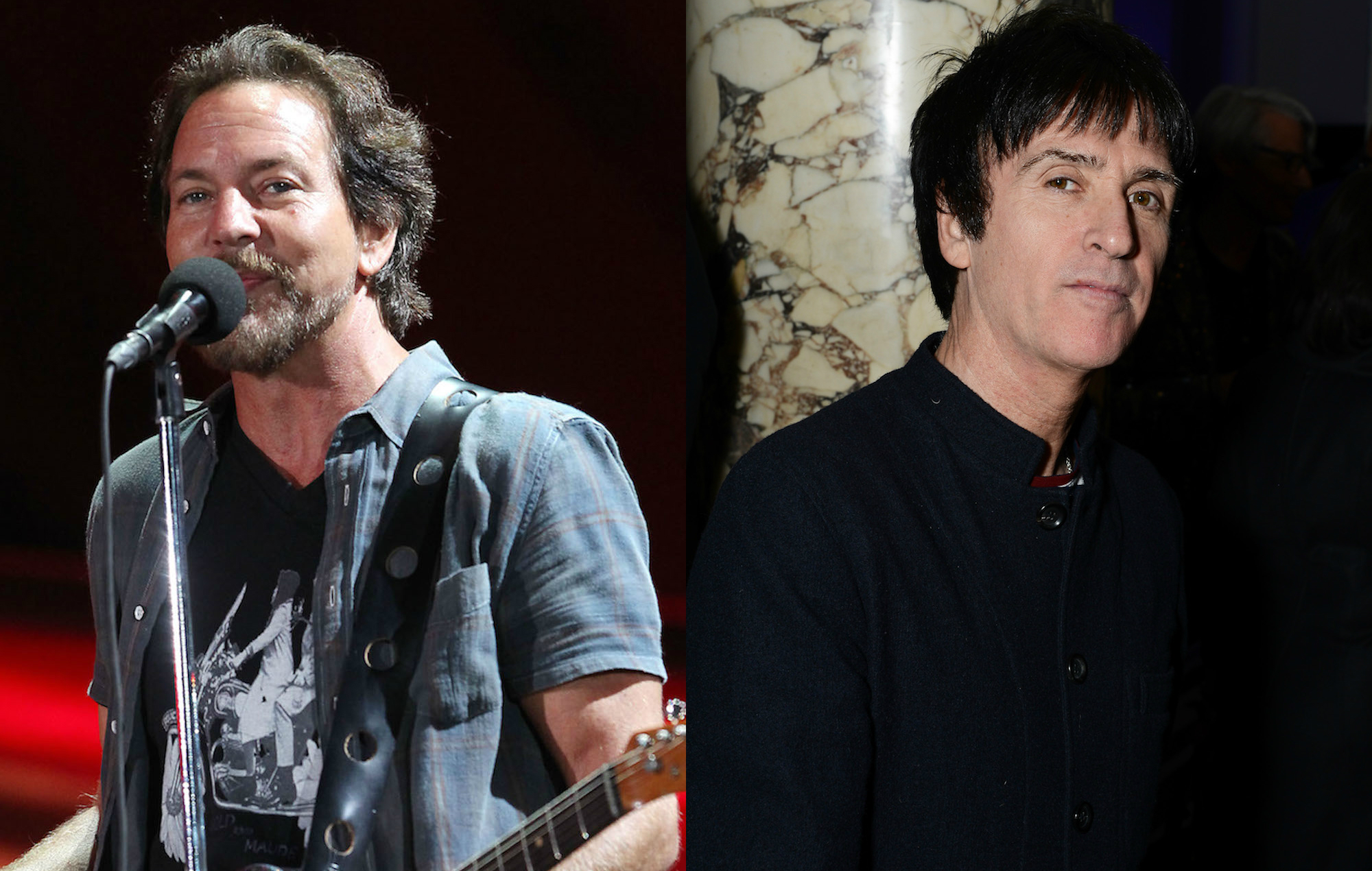 NME Festival blog: Watch Pearl Jam's Eddie Vedder cover The Smiths with Johnny Marr