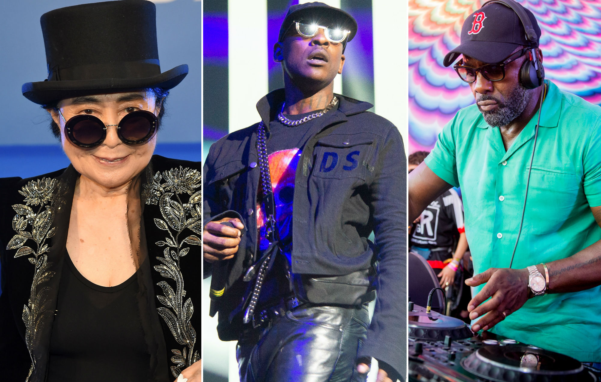NME Festival blog: Yoko Ono, Skepta and Idris Elba lead line up for Manchester International Festival 2019