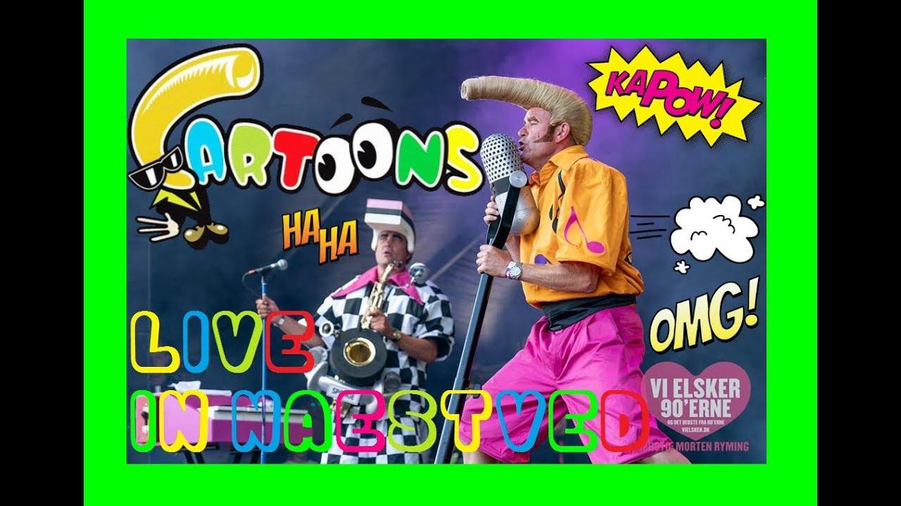 "FESTIVAL HIGHLIGHTS: Cartoons – Live @ ""We❤The90's"" Festival In Næstved, Denmark 2018! *HIGHLIGHTS*"
