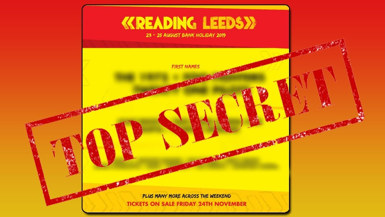 FESTIVAL HIGHLIGHTS: LEAKED READING AND LEEDS FESTIVAL 2019 LINE UP