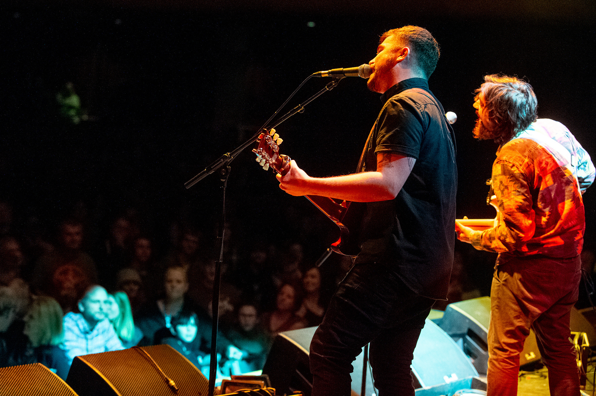 Sean McGowan – supporting Levellers: knockout