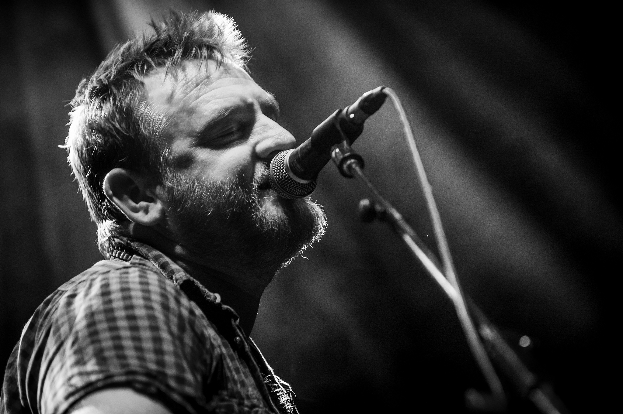Nick Parker supporting Levellers – what a talent