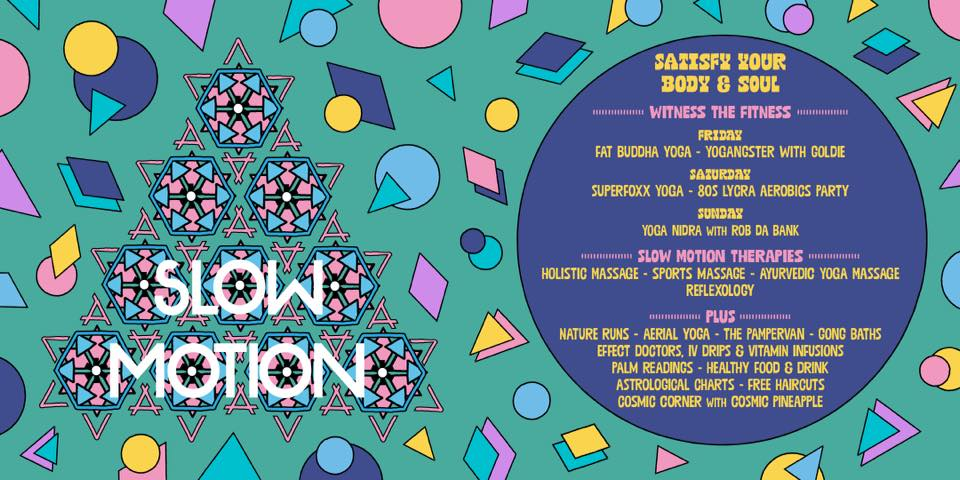 Bestival news: Satisfy your body and soul at Slow Motion.