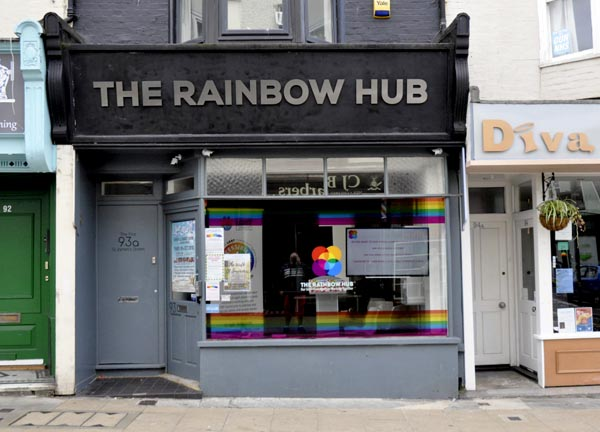 Brighton Pride news: Rainbow Hub – progress and September opening times | Gscene Gay Magazine – What's on in Gay / LGBT Brighton